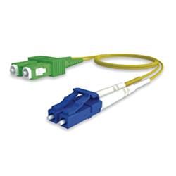 Latiguillo LC-UPC/SC-APC 9/125<br /> OS2 dúplex