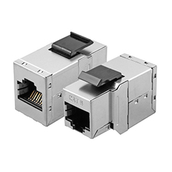 Adaptador Keystone<br /> RJ45 Cat.6 FTP H/H panel