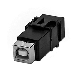 Adaptador Keystone<br /> 2.0 USB A/B H/H