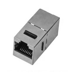Adaptador Keystone<br /> RJ45 Cat.6A FTP H/H