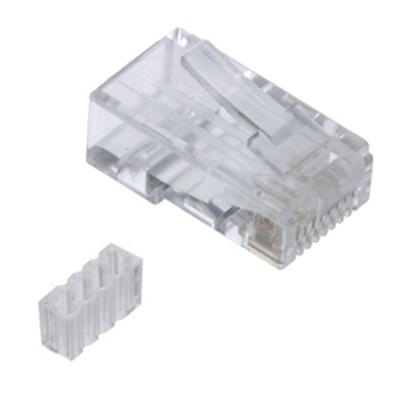 Conector RJ45 Cat.6<br /> rígido/flexible con guía