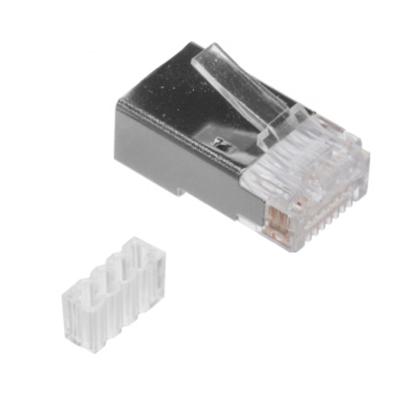 Conector RJ49 Cat.6 apantallado<br /> rígido/flexible con guía