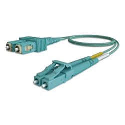 Latiguillo LC/SC 50/125 OM3 dúplex