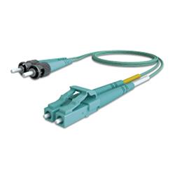 Latiguillo LC/ST 50/125 OM3 dúplex