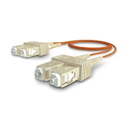 Latiguillo SC/SC 50/125 OM2 dúplex