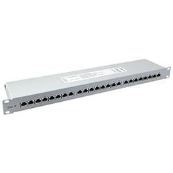 Panel FTP Cat.5e 24 puertos<br /> 19' 1U 100 MHz