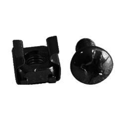 kit de tornillería M6 negro